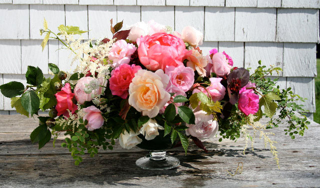 Flowers for Special Events: Wine-and-Roses, Historic Gardens, Annapolis Royal