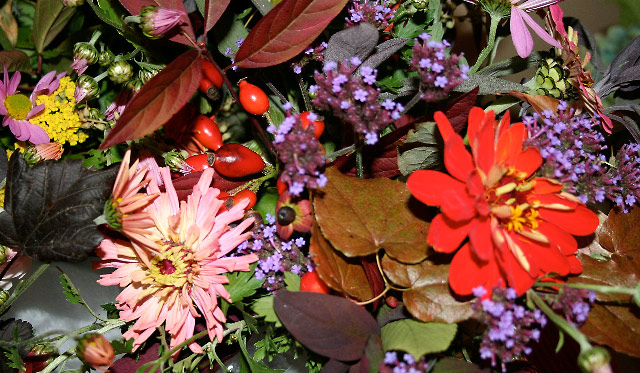 Flowers for Special Events: September into October